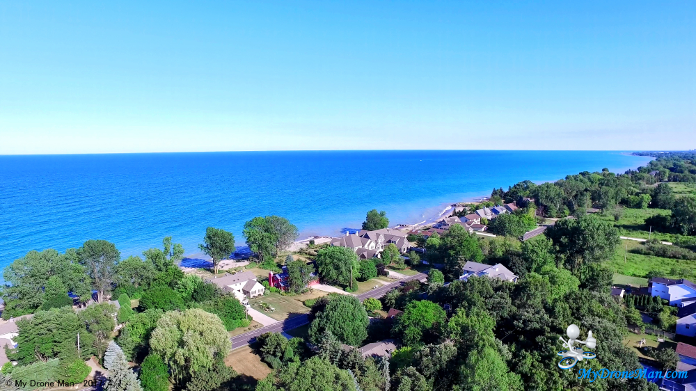 Drone, Waukesha, Lake Michigan, Aerial, photography