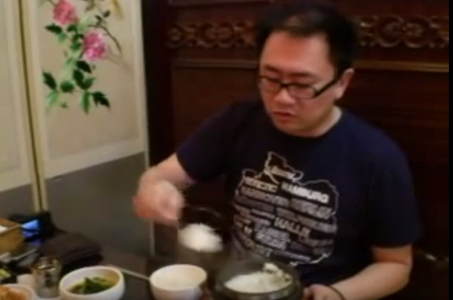 Emil Goh teaching Lesson of The Lunch in Seoul 2007