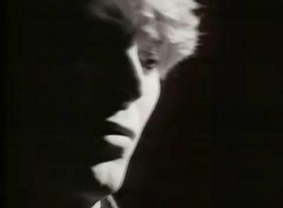 David Bowie in black & white