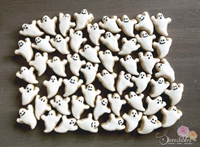 Mini Ghost Cookies