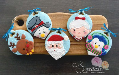 Christmas Ornaments Cookies