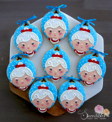 Mrs Claus Cookies