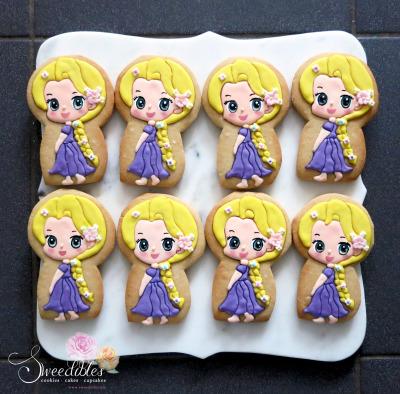 Repunzel Cookies