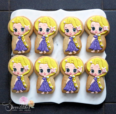 Repunzel Cookies
