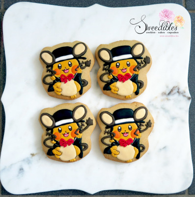 Dedenne Pokemon Cookie