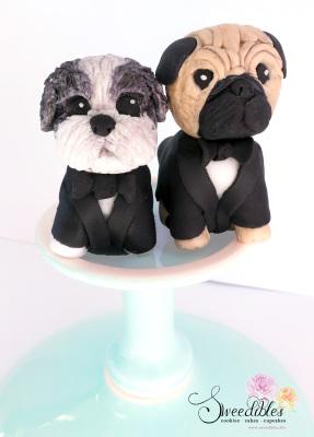 Shih Tzu & Pug Figurines