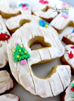 Christmas Alphabet Cookie