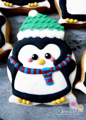 Green Penguin Cookie