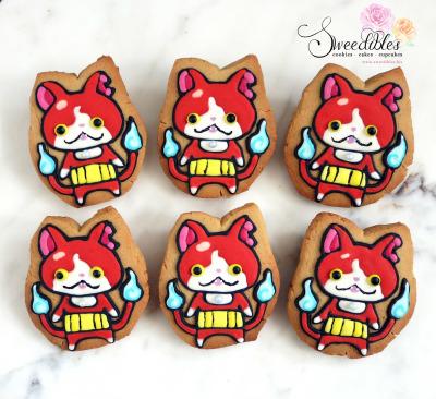 Yokai Jibanyan Cookies