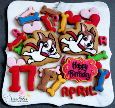 Dog Themed Cookie Set