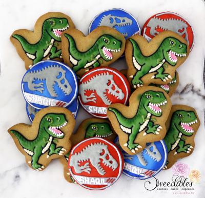 Jurassic Themed Cookies