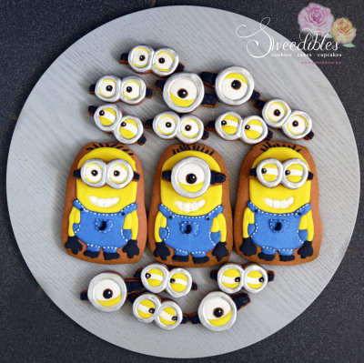 Build Your Own Minion Cookie