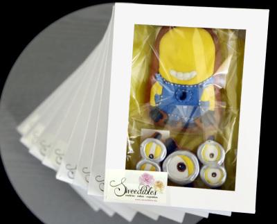 Minion Cookie Gift Box
