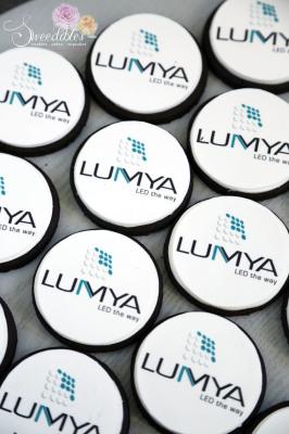 LUMYA Corporate Logo Cookie