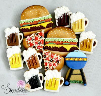 BBQ Themed Cookies