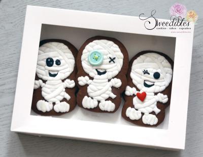 Halloween Mummy Cookies Box Set