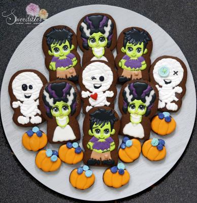 Halloween Cookies 2017