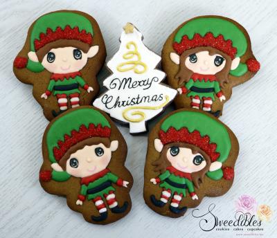 Sweedibles Christmas Elf Cookies