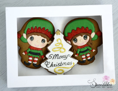 Christmas Elf Gift Box