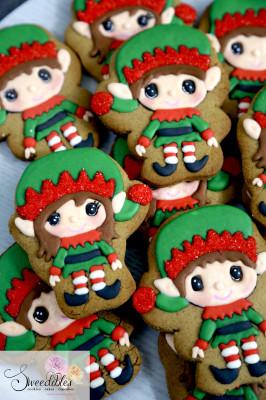 Sweedibles Christmas Elf Cookie