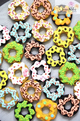 Donut Themed Cookies