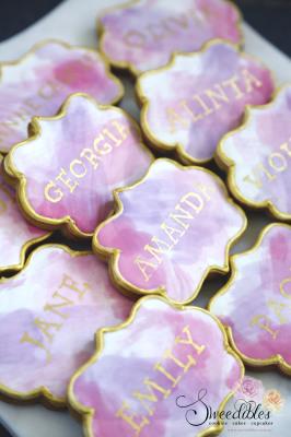 Name Plaque Cookies