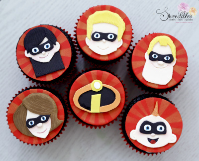 The Incredibles Cupcakes
