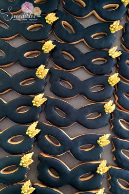 Masquerade Mask Cookies