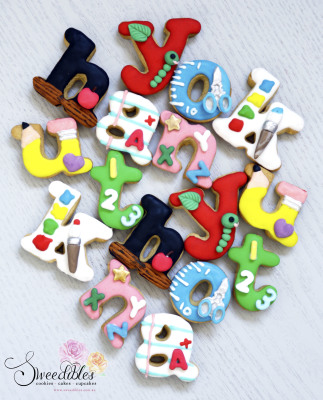 Teacher's Appreciation Cookies