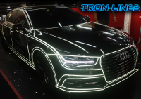 tron lines, Car wrapping, car vynil, colour change, car styling, matt colours, vynil wrap, window tinting, automotive films