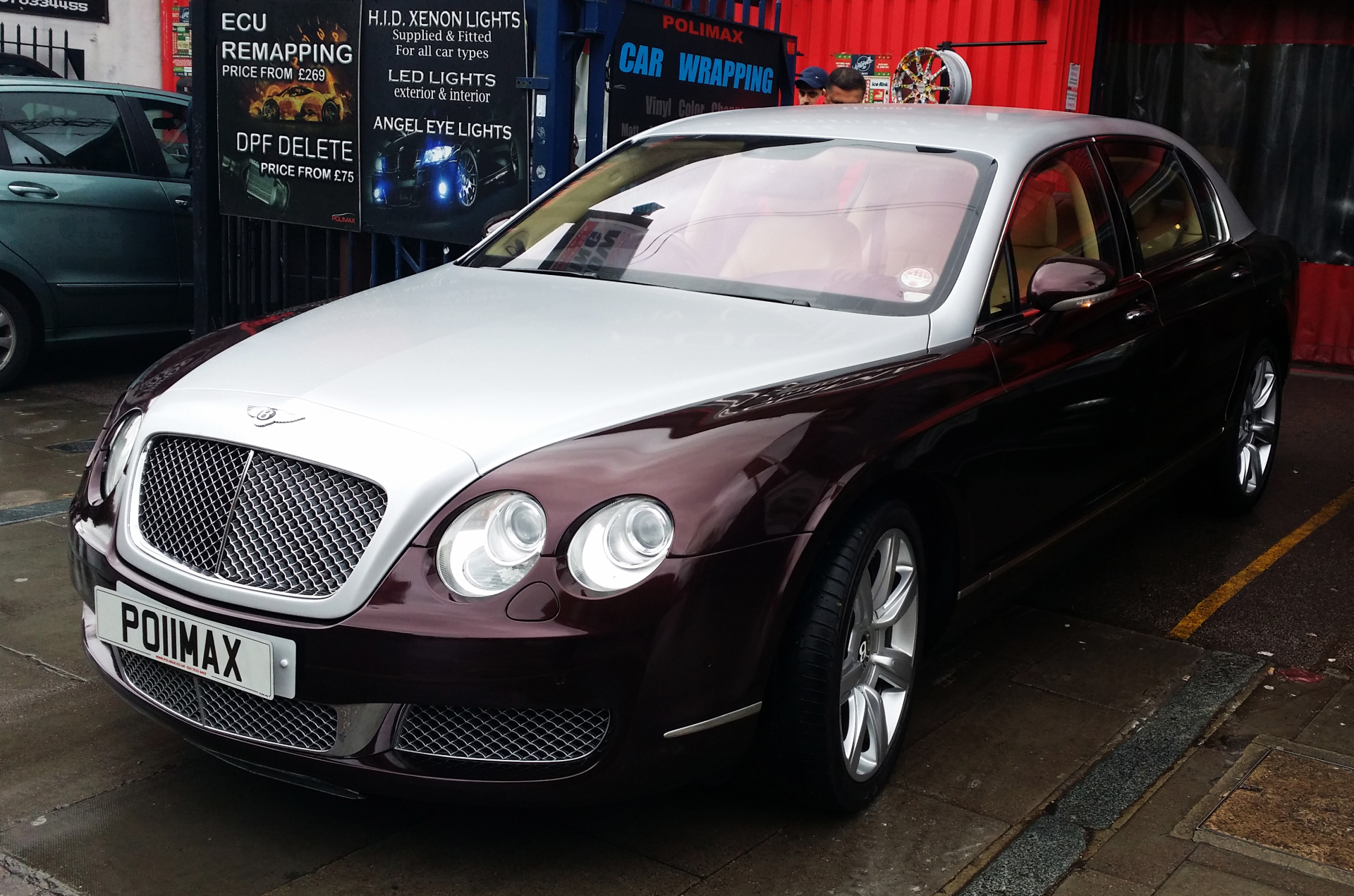 Bentley Car Wrap