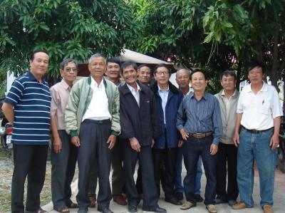Hình ảnh sinh hoạt Khoá Hai, Nông Lâm Súc Ninh Ninh Thuân