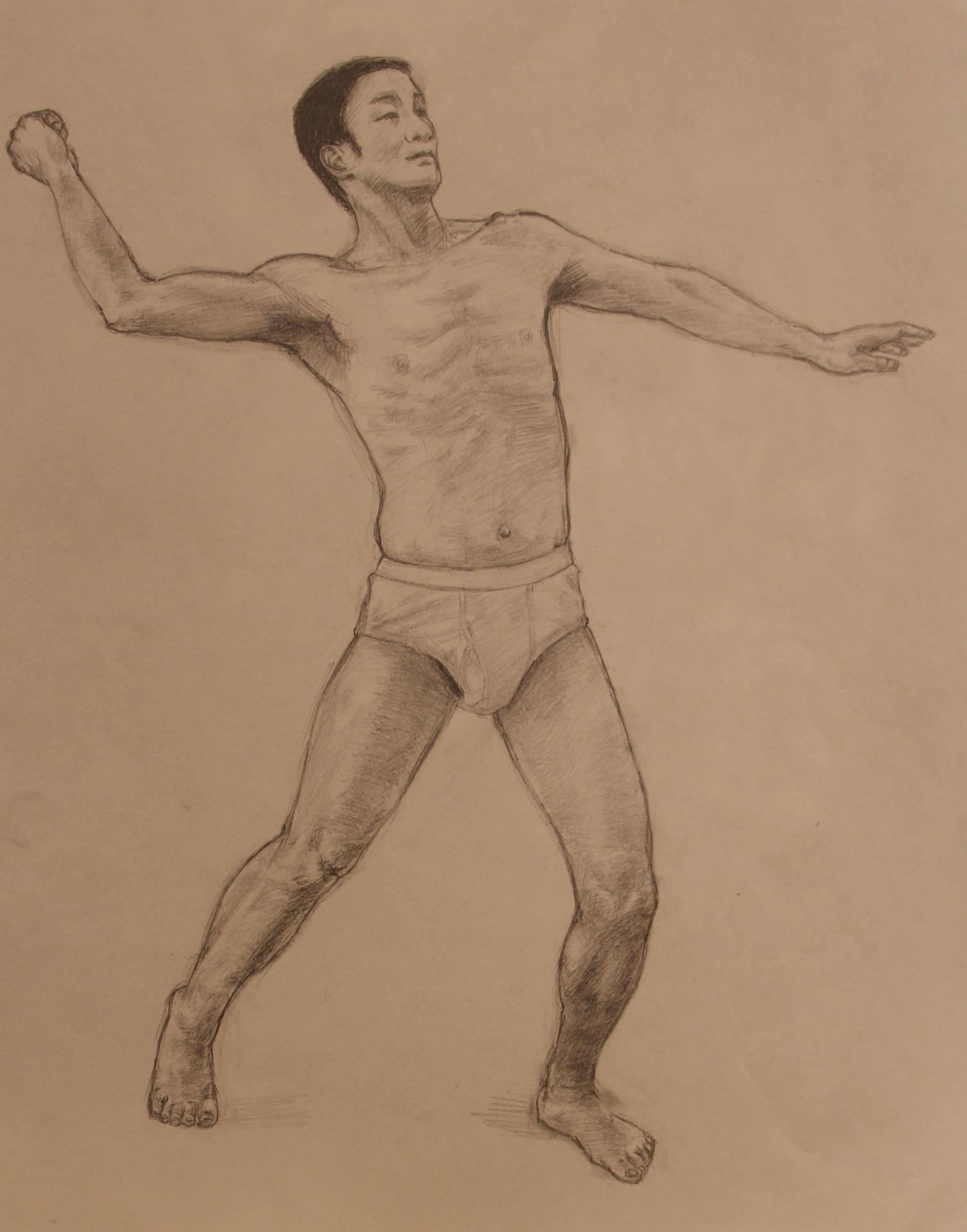 Anatomy Study - Man