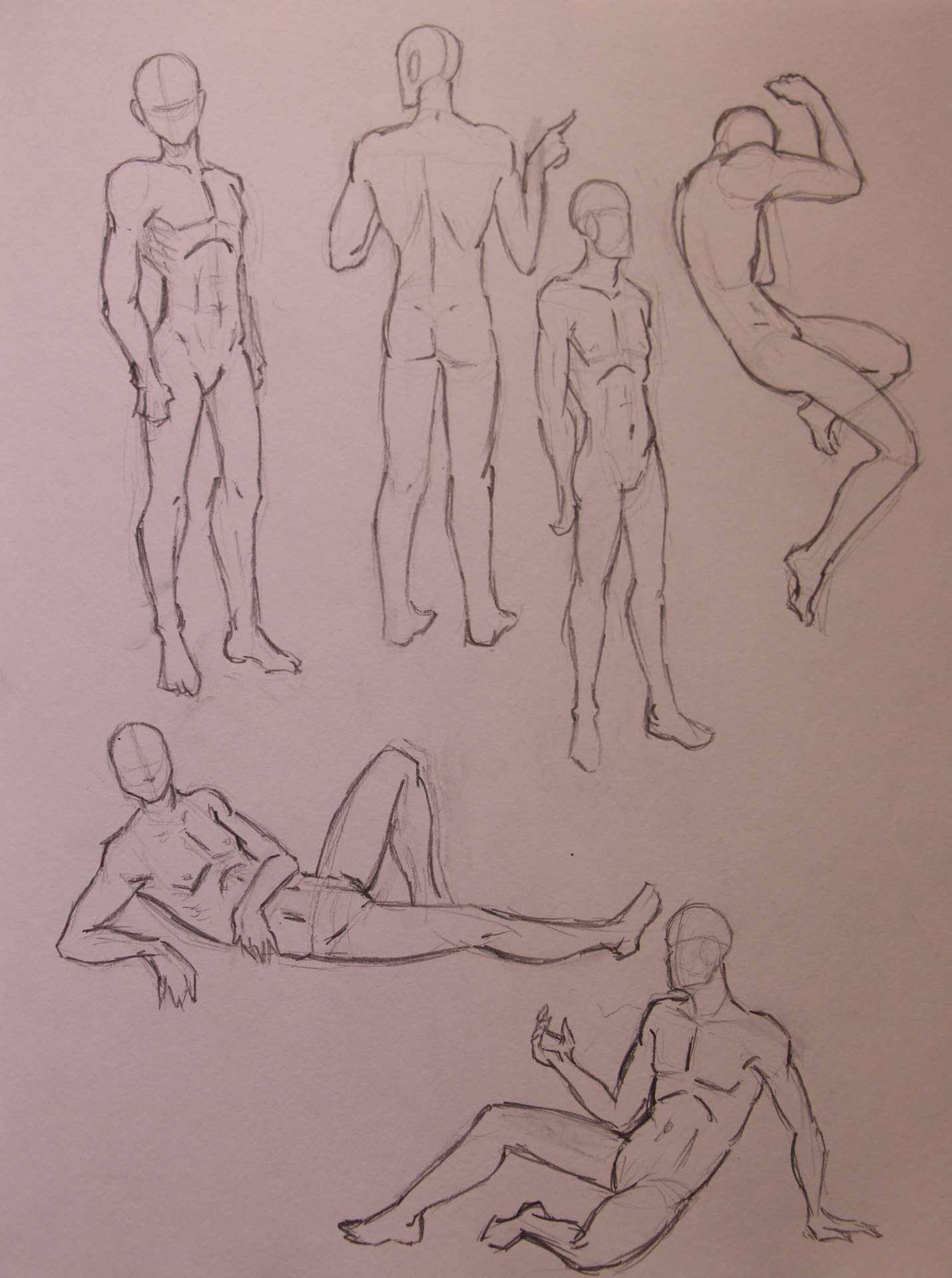 Anatomy Study - Male Poses