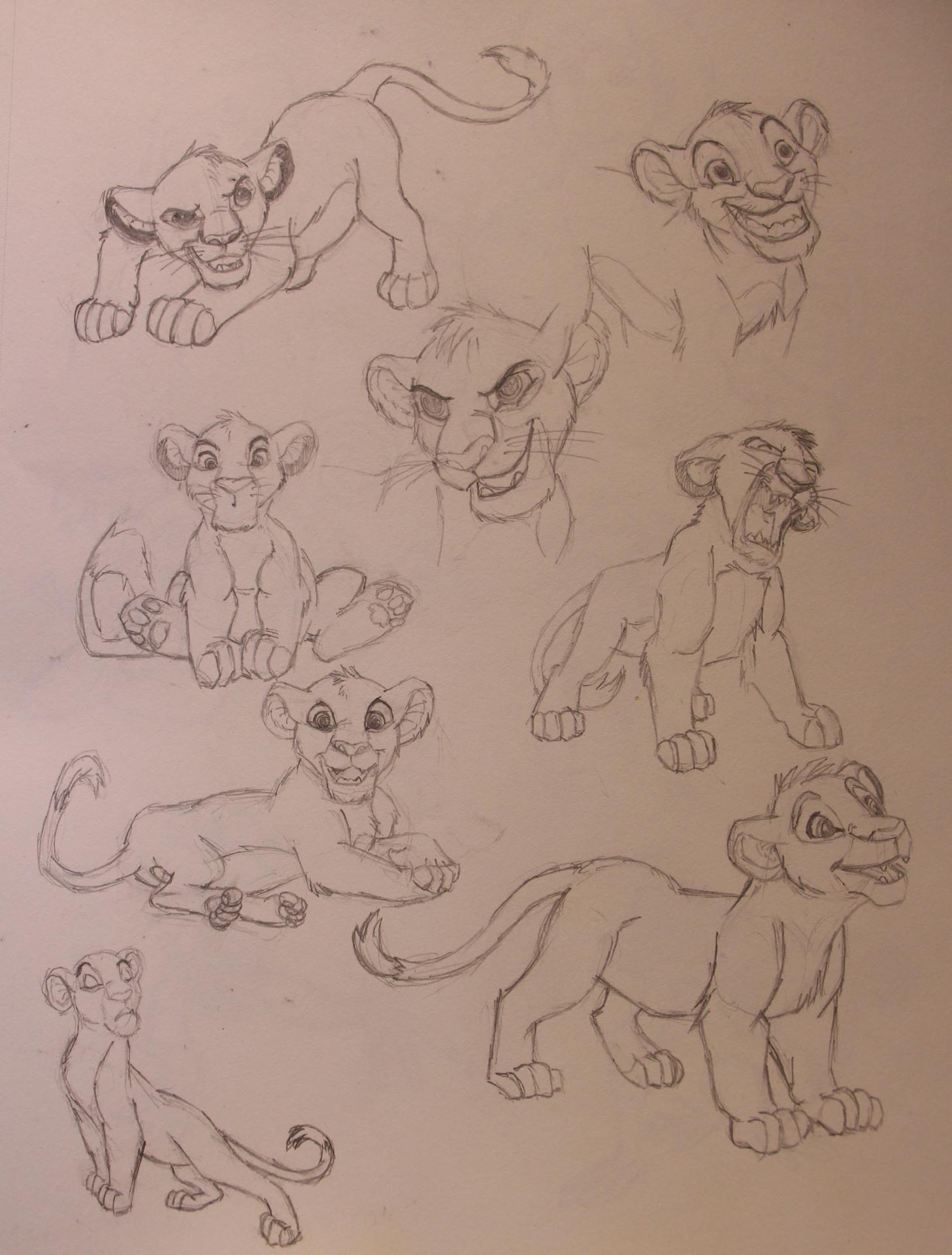 Character Studies - Lion Cub