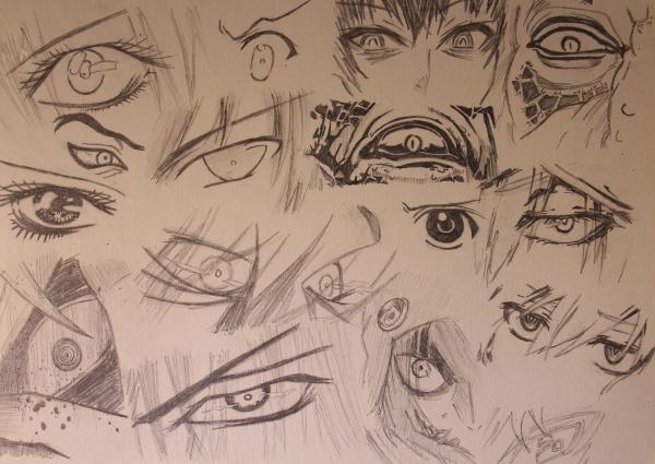 Character Studies - Eyes