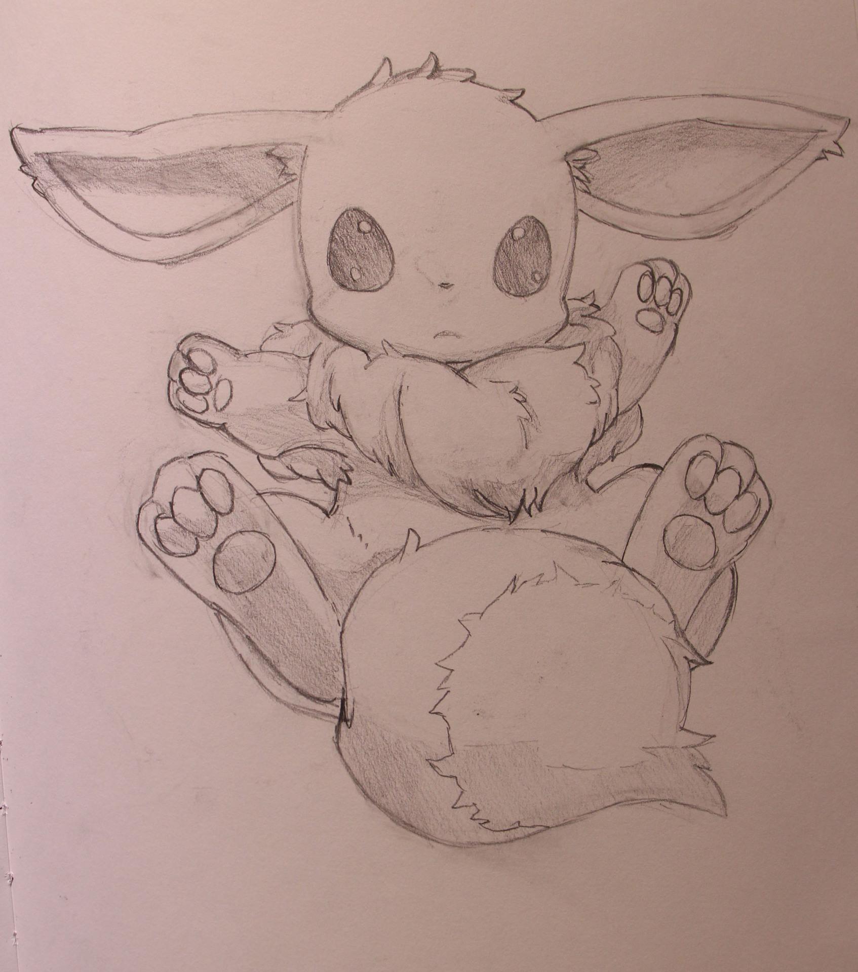 Character Studies - Sketch Eevee