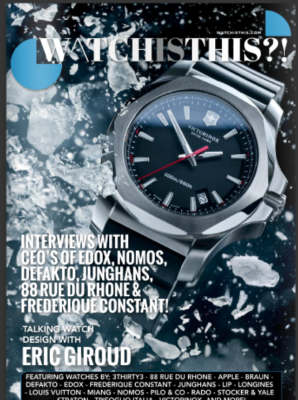 First Issue of Watchisthis?! Magazine