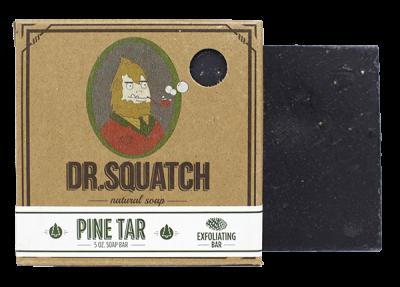 Dr Squatch's Pine Tar Soap