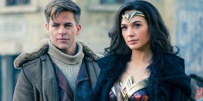 "Steve (Chris Pine) and Diana (Gal Gadot) in ""Wonder Woman"""