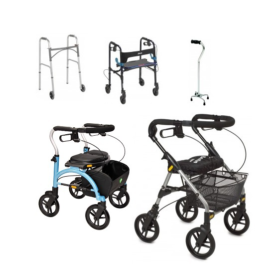 2 4 wheeled walkers mobility rentals crutches knee walker scooter medical supplies calgary nw