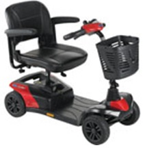 Power scooter Invacare colibre light weight