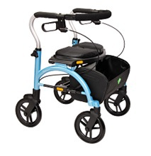 Rollator wheeled walkers expresso lite side fold nitro excursion