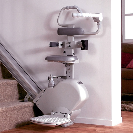narrow stair lift stairlift perch