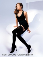 Soft opaque women thigh high