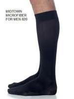 Compression medical socks for men. Knee high. Closed toe. CalgaryNW