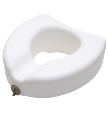 raised toilet seat