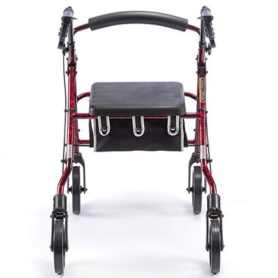 new 4 wheeled walker rollator strong sturdy