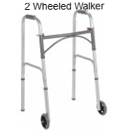 2 wheeled walker rental