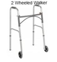 2 wheeled walker
